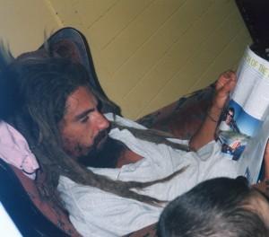 BEFORE UNIVERSAL MEDICINE: Tony Steenson - Age 27  (2004)